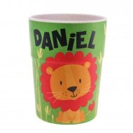 Bamboo Crew Beaker Lions & Tigers Daniel