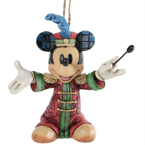 Disney Traditions Band Concert Mickey Mouse Hanging Ornament
