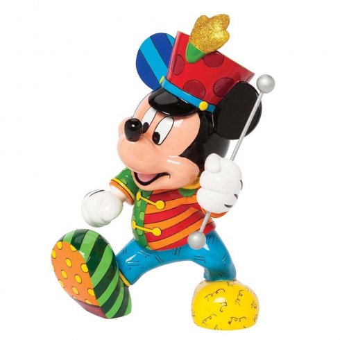 Disney By Britto Band Leader Mickey Mouse Figurine