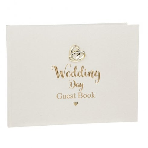 Shudehill Giftware Bands Of Gold Guest Book