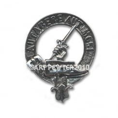 Barclay Clan Crest Key Fob