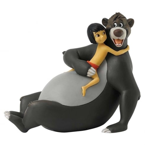 Disney Enchanting Collection Bare Necessities Mowgli and Baloo