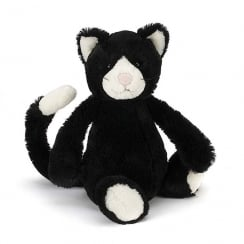 Bashful Black & White Kitten Medium 31cm