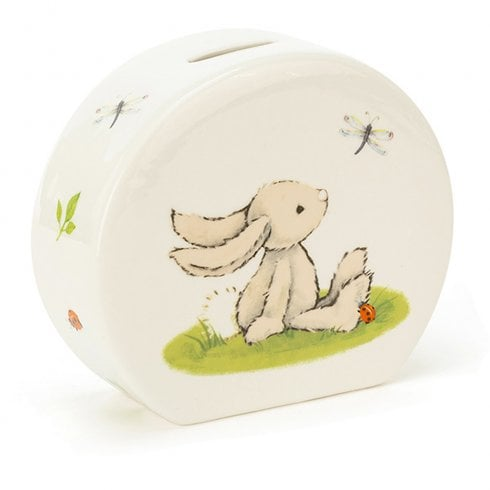 Jellycat Bashful Bunny Money Box