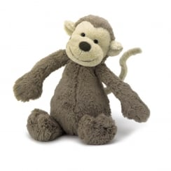 Bashful Monkey Medium 31cm