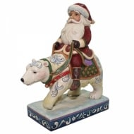 Bear With Me Santa Riding Polar Bear