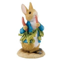 Beatrix Potter Peter Ate Some Radishes Miniature Figurine A26708