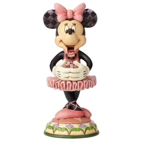 Disney Traditions Beautiful Ballerina Nutcracker Minnie Figurine