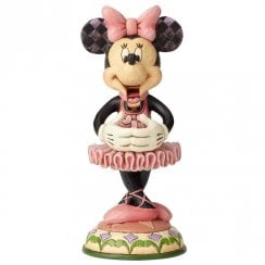 Beautiful Ballerina Nutcracker Minnie Figurine