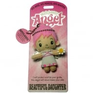 Beautiful Daughter Angel Keyring