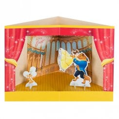 Beauty and the Beast 3D Princess Stage Pop-Up Birthday Card 25482543