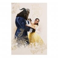 Beauty And The Beast Blank Card 25482264