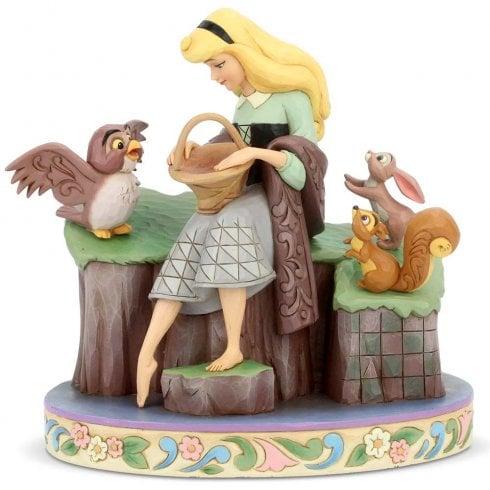 Disney Traditions Beauty Rare Sleeping Beauty Figurine