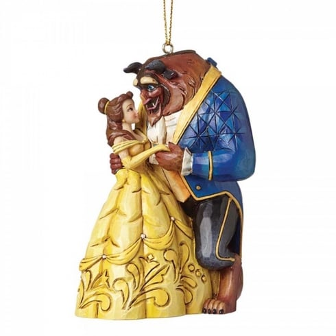 Disney Traditions Beauty & The Beast Hanging Ornament