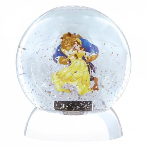 Disney Showcase Beauty & The Beast Waterdazzler Globe