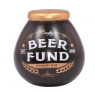 Beer Fund Ceramic Money Pot