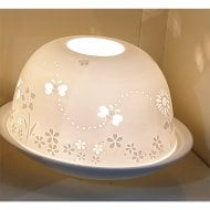 Bees & Flowers Tealight Candle Shade & Tray