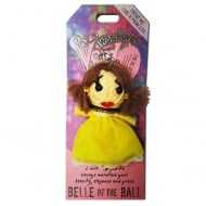 Belle of the Ball Voodoo Keyring