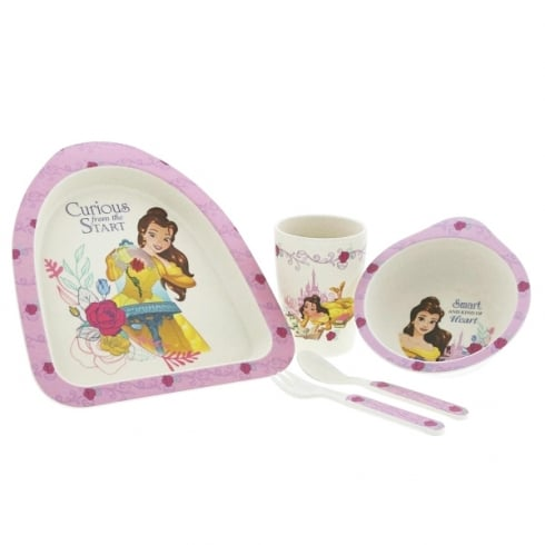 Disney Enchanting Collection Belle Organic Dinner Set