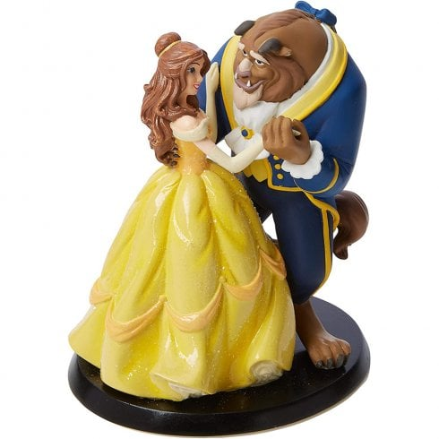 Disney Enchanting Collection Belle Wedding Cake Topper