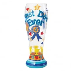 Best Dad Ever Glass