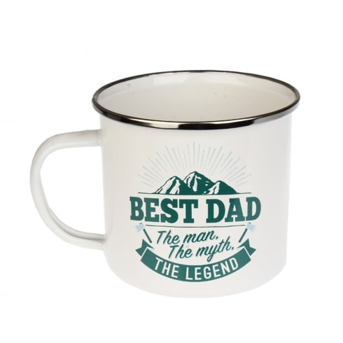 History & Heraldry Best Dad Tin Mug 2