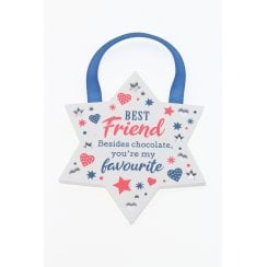 Best Friend Hanging Plaque