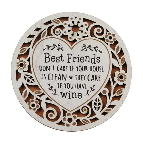 History & Heraldry Best Friends Coaster