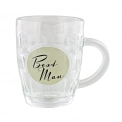 Best Man Pint Tankard