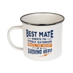 Best Mate Tin Mug 6