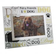 Best of Breed Dog 3D Words 6 x 4 Glass Photo Frame