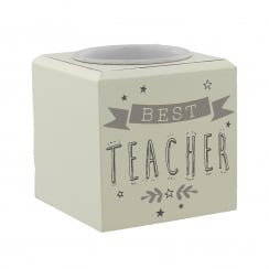 Best Teacher Tea-Light Holder