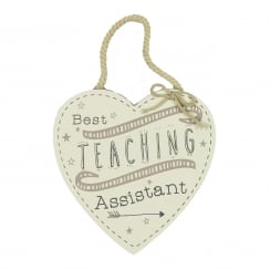 Best Teaching Assistant Hanging Plaque