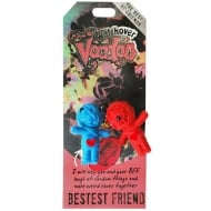 Bestest Friend Voodoo Keyring