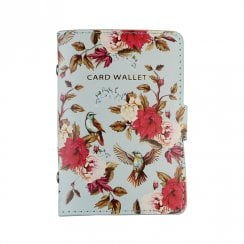 Birds and Flowers Card Wallet