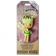 Birthday Wishes Voodoo Keyring