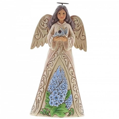 Jim Shore Heartwood Creek Birthstone Angel July