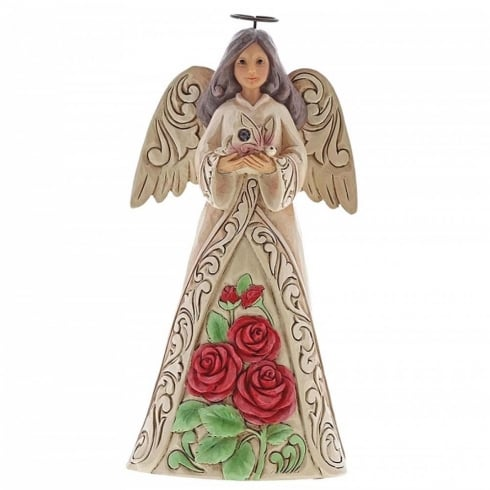Jim Shore Heartwood Creek Birthstone Angel June