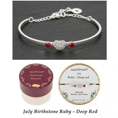Equilibrium Birthstone Bracelet July