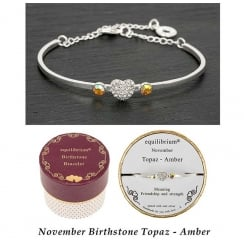 Birthstone Bracelet November