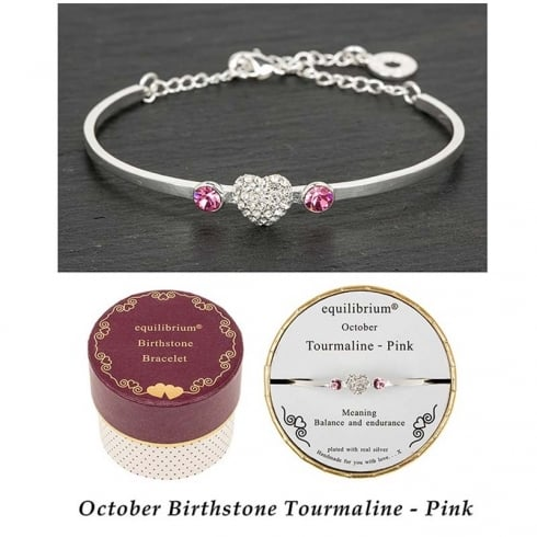 Equilibrium Birthstone Bracelet October