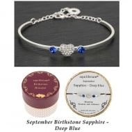 Birthstone Bracelet September