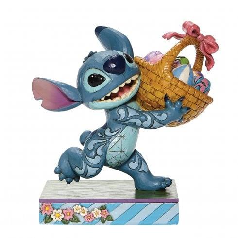 Disney Traditions Bizarre Bunny Stitch Figurine