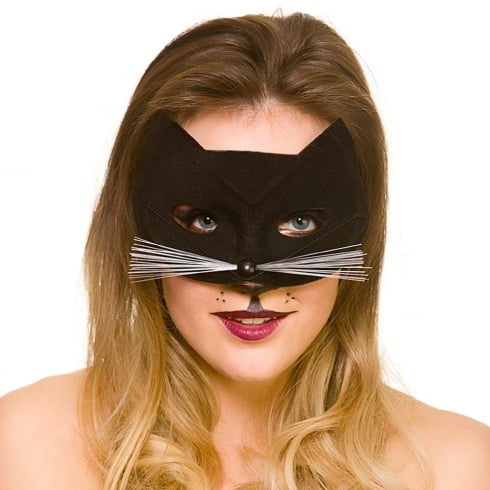 Wicked Costumes Black Cat Eyemask