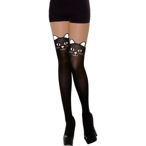 Bristol Novelty Black Cat Stockings