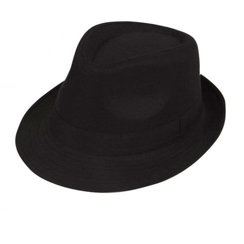 Wicked Costumes Black Fedora Hat