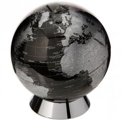 Black Globe Savings Money Bank 20cm