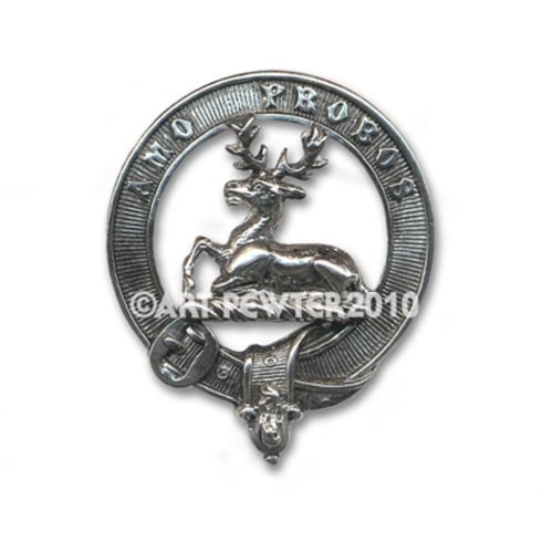 Art Pewter Blair Clan Crest Key Fob