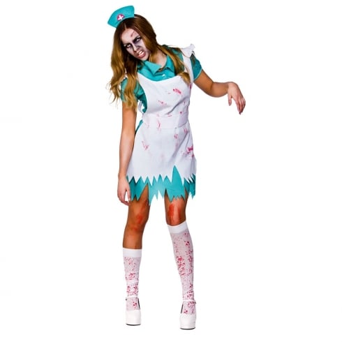 Wicked Costumes Bloodthirsty Zombie Nurse Small