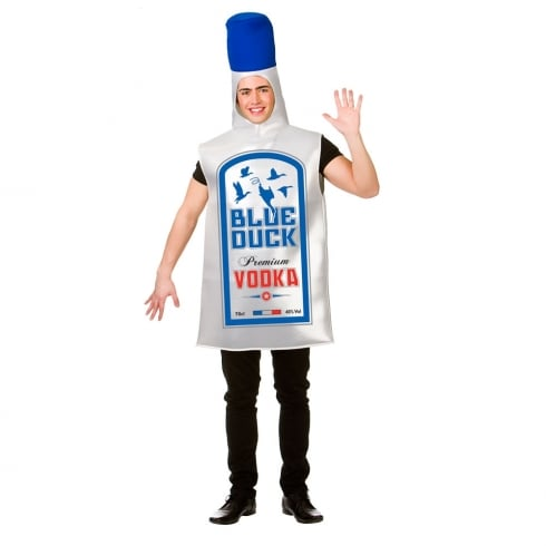 Wicked Costumes Blue Duck Vodka Adult Costume